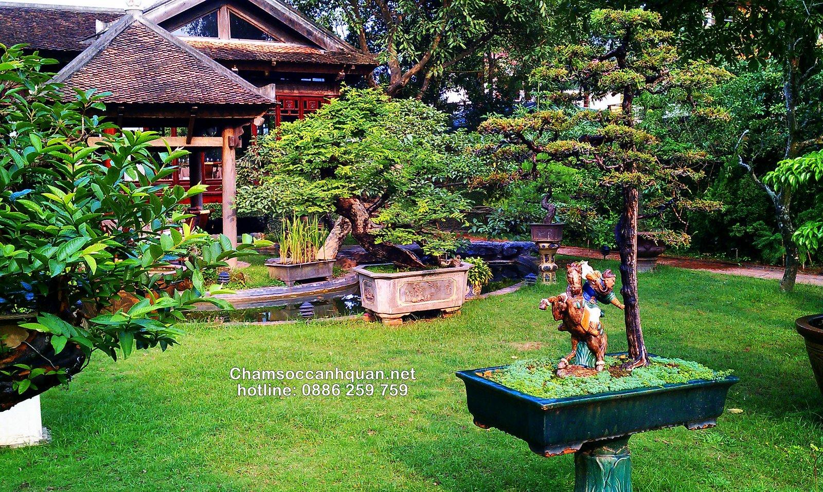 Thi công sân vườn biệt thự
