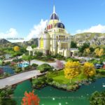 Tư vấn thiết kế cảnh quan sân vườn lâu đài Xuân Thủy Ninh Bình