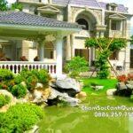 Thi công sân vườn đẹp tại Hoài Đức – Hà Nội – SalalaGreen