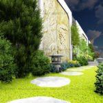 Thiết kế sân vườn biệt thự Vinhomes Green Bay – SalalaGreen