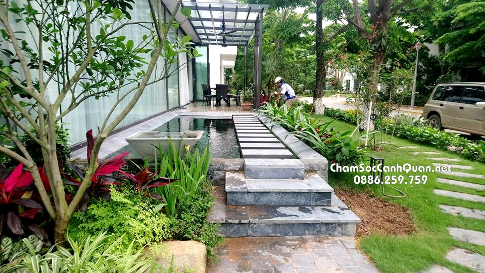 Biệt thự sân vườn Ecopark 2