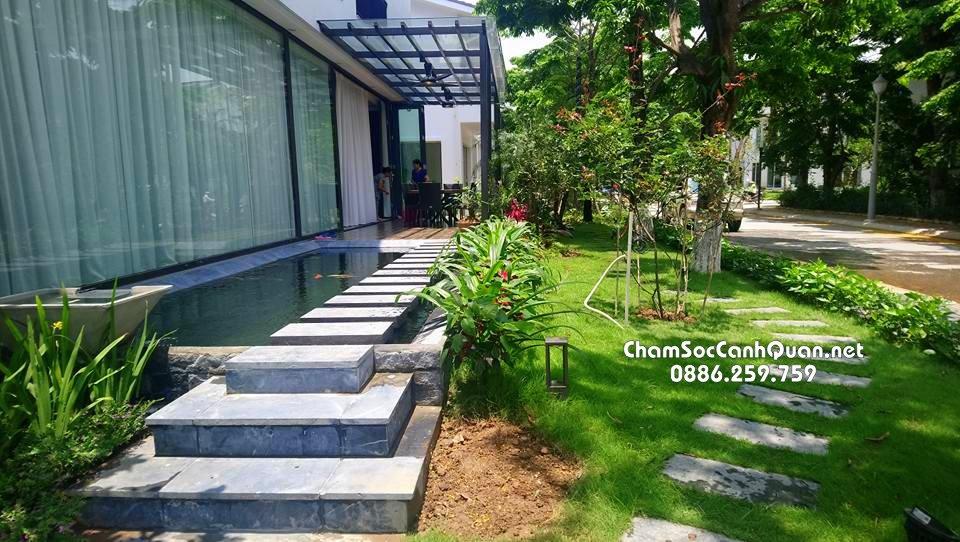 Biệt thự sân vườn Ecopark 7