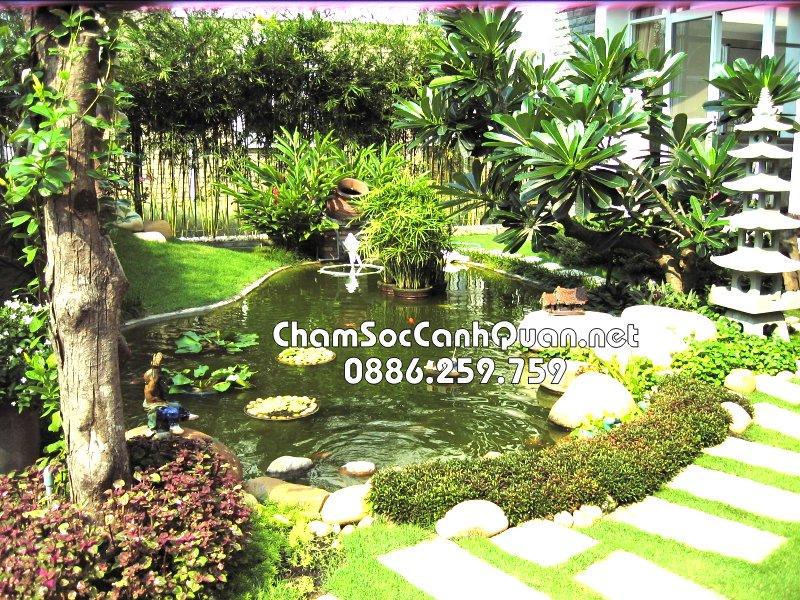 Mẫu sân vườn đẹp Park City 3
