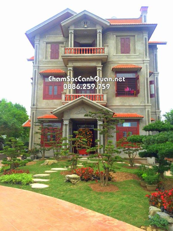 sân vườn đẹp Nam Định