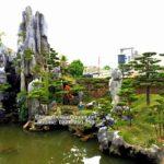 Sân vườn non bộ đẹp Nam Định – Thiết kế thi công SalalaGreen