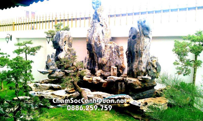 Sân vườn đá cảnh