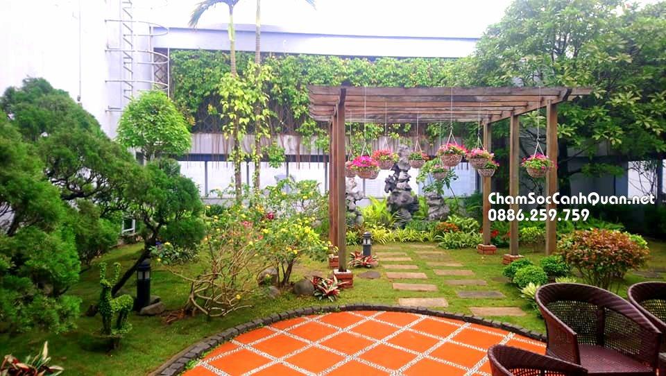 Sân vườn Ecopark 8