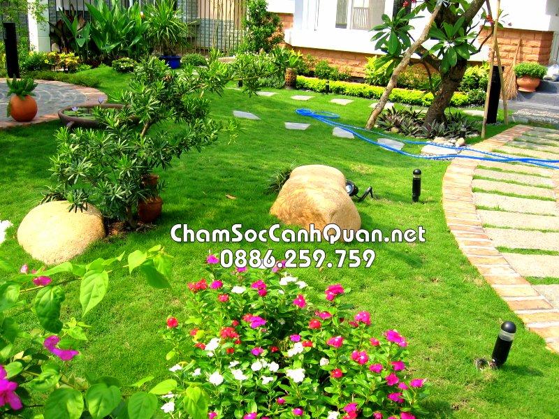 Sân vườn đẹp Garmuda