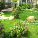 Sân vườn đẹp Garmuda Garden – Thi công SalalaGreen