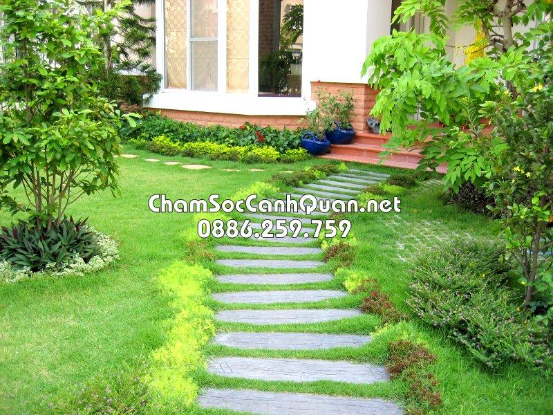 Sân vườn đẹp vĩnh phúc