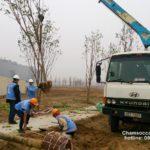 Cảnh quan dự án Samsung electronics Bắc Ninh