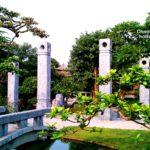 Sân vườn biệt thự Sóc Sơn