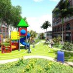 Thiết kế sân chơi trẻ em chung cư Mễ Trì Hạ