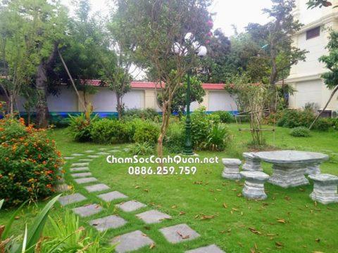 Công tác bảo dưỡng sân vườn định kỳ
