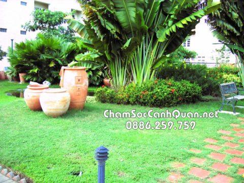 Mẫu sân vườn đẹp Park City 2