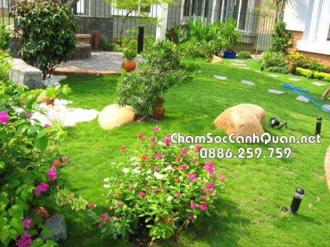 Sân vườn Garmuda